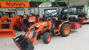 Kubota B1241 Allrad Kleintraktor Frontlader MX C1 Traktor Schlepper