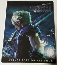 Final Fantasy 7 Vii Ff7 Remake Deluxe Edition Artbook Only