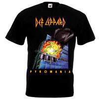 Def Leppard Pyromania 1983 Rock Music SHIRT