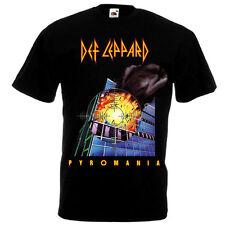 Def Leppard Pyromania 1983 Rock Music Shirt