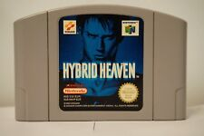 Hybrid Heaven Nintendo 64 N64 video game cartridge spiel original PAL 1999 EUR