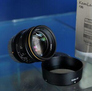 KamLan 50mm F/1.1 canon mirrorless EF-M