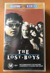 VHS The Lost Boys Video Kiefer Sutherland Horror Vampires