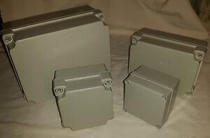 electrical enclosure plastic junction box IP65 dust/splash proof various sizes