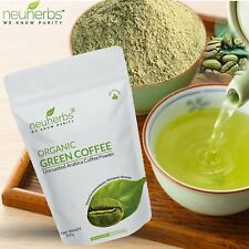 Organic Green Coffee Beans Powder 200 GRAMS