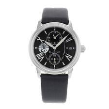 Relojes de pulsera de acero inoxidable de acero inoxidable de alarma