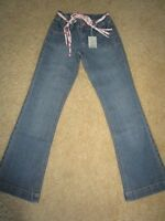 Girls Pumpkin Patch relaxed fit denim jeans with fabric belt   Size 10