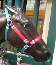 Jaapi halter in Zenyatta's colors, not for real horses, fits Breyer traditiional