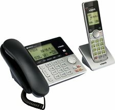 Vtech CS6949 DECT 6.0 Corded Cordless 2-Handset Telephone System, Dual Caller ID