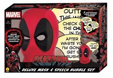 Rubies Marvel Deadpool Deluxe Mask and Speech Bubble PX Box Set New