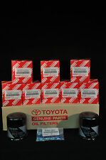 90915-YZZD1, Qty 10, Toyota  Lexus Oil Filters With Drain Plug Gaskets