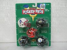 1997 Riddell Pocket Pros AFC Central Oilers Ravens Bengals Jaguars Steelers