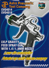 Astro Pneumatic EVO4018 Low Volume Low Pressure (LVLP) Spray Gun - 1.8mm