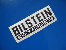 BILSTEIN SHOCK ABSORBERS sticker/decal x2