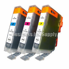 3 COLOR CLI-226 CLI-226C CLI-226M CLI-226Y Ink for Canon MG6110 MG6120 *CHIP
