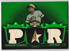 2007 Triple Threads ROBERTO CLEMENTE Patch Jersey Card #d 2/18