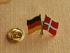 Freundschaftspin Deutschland Dänemark Pin Button Badge Anstecknadel Sticker