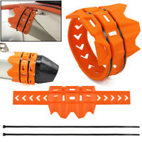 1* Exhaust Tailpipe Tail Pipe Guard For KTM SX SXF EXC XCW Dirt Bike Motorcross