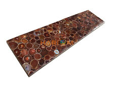8'x4' German Onyx Agate Center Dining Table Top Hallway Restaurant Decors A001B