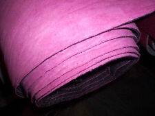 """Suede Headliner Upholstery Fabric with a Foam Backing HOT Pink Suede 36"""" x 60"""""""