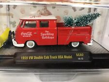 M2 Coca-Cola 1959 VW Double Cab Plow Truck Non Chase Limited Edition