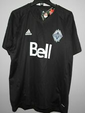MLS Adidas Vancouver Whitecaps Soccer Football Jersey New Mens LARGE