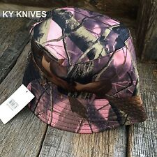 Outback Safari Bucket Flap Boonie Hat Fishing Outdoor NEW HT-863 PINK CAMO
