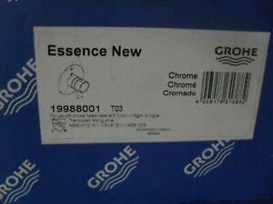 Grohe 19988001 Essence 2 function Thermostaic valve trim Chrome