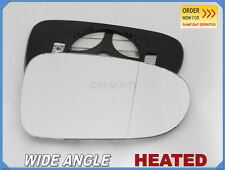 For FORD GALAXY 1995-2005 Wing Mirror Glass Wide Angle HEATED Right Side #1022