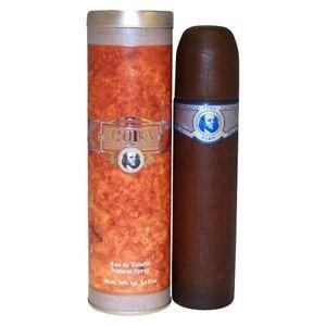 CUBA BLUE * Cuba 3.3 oz / 100 ml Eau de Toilette (EDT) Men Cologne Spray