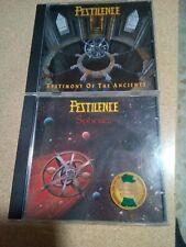 LOTE  PESTILENCE,2 CDS,PROGRESIVE DEATH METAL