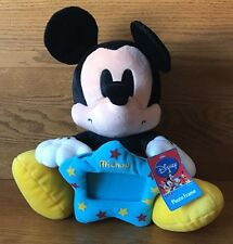 "Disney SEGA Game Prize 12"" Plush Mickey Photo Frame Series 1"