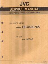 JVC Original Service Manual für GR- 45 EG  2-tlg.