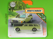 Matchbox 2019 -   Mercedes-Benz W123 Wagon  -  MBX Road-Trip  -  3  - neu in OVP