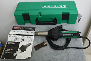 2018 Leister Triac ST Hot Air Tool - Made in Switzerland - Exceptional in Case!