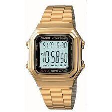 Casio Men's Digital Watch, Gold & Black, A178WGA-1ADF