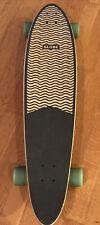 "Globe Pinner Classic 40"" Skateboard ~Maple Classic Pintail Longboard w/ Kicktail"