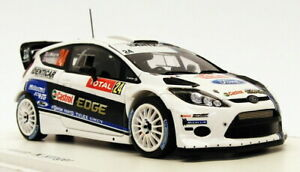 Spark 1/43 Scale S3365 - Ford Fiesta RS WRC - #24 Monte Carlo 2013