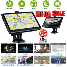 """7"""" Zoll LKW Bus Auto GPS Navigationsgerät Navigation Navi MP3 FM Touch Screen"""