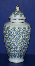 STUNNING RARE LIMOGES FRANCE PEINT MAIN ST PIERRE HAND PAINTED JAR GRAPES GOLD