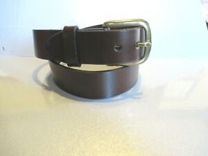 "MENS  NEW Levi's Leather Belt Casual Brown  1 1/4"" SZ 32 NEW    1140"