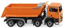 WIKING 1:87 LKW Muldenkipper MAN TGS Euro 6 Meiller orange 10/2017 #067448 NEU