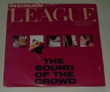 """HUMAN LEAGUE 7"""" THE SOUND OF THE CROWD PICTURE SLEEVE 1981 EXCL VS416"""