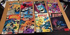 BATMAN big LOT (48) Detective Chronicles Confidential Wildcat Toyman VF set run