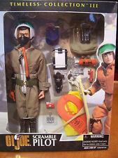 1:6  GI JOE SCRAMBLE PILOT Complete, Hasbro Timeless Collection III MINT