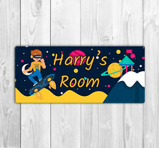 Personalised Children's Room Door Name Plaque / Sign  - Virtual Rality Space