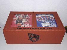 2004-05 NEW JERSEY NETS SEASON TICKET HOLDER BASKETBALL LEATHER BOX