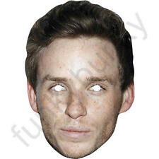 Eddie Redmayne Celebrity Actor Card Mask - All Our Masks Are Pre-Cut!
