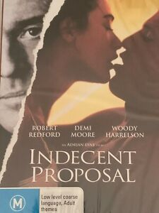Indecent Proposal Robert Redford Demi Moore DVD Brand New