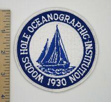 Woods Hole Oceanographic Institution Patch Original
